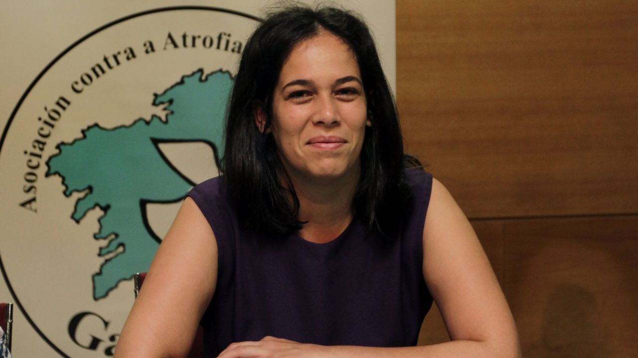 Mercedes Álvarez, presidenta de la asociación GaliciAME