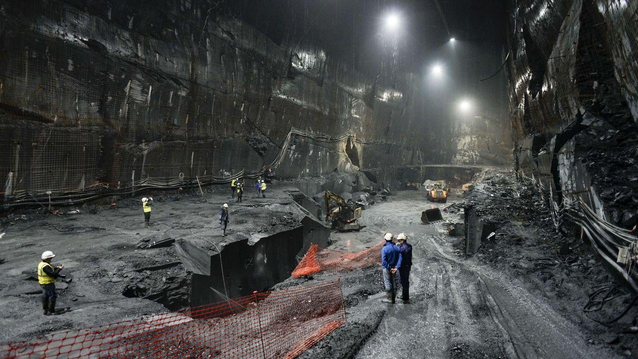 Ésta es la mina de pizarra más grande del mundo y está en Valdeorras.García y Alén, en O Barco