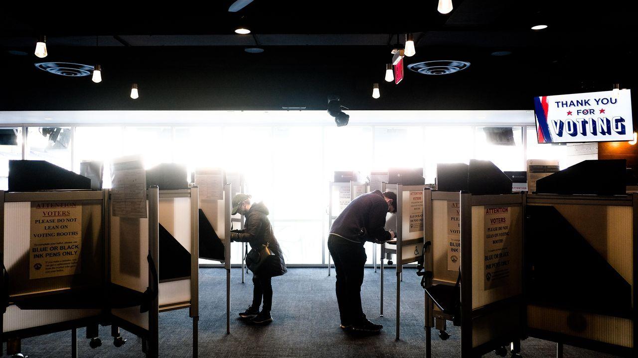 Votantes en Washington