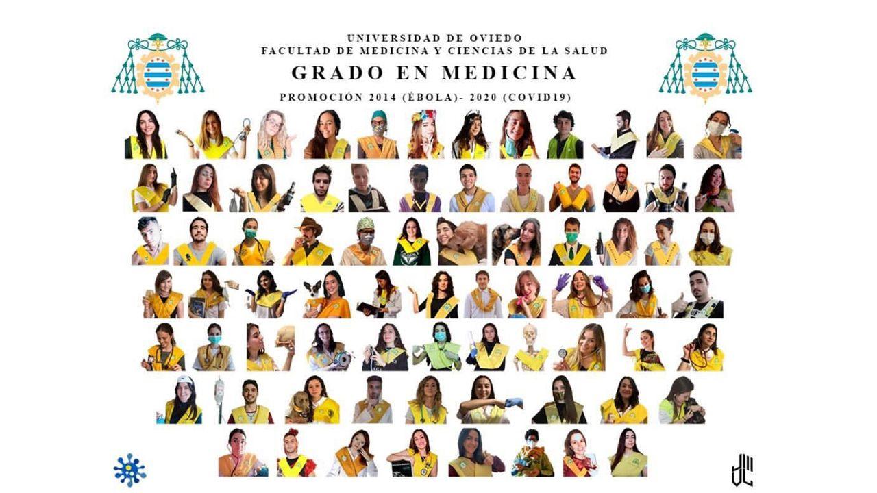 La curiosa orla de la generación de Medicina que se graduaría este año