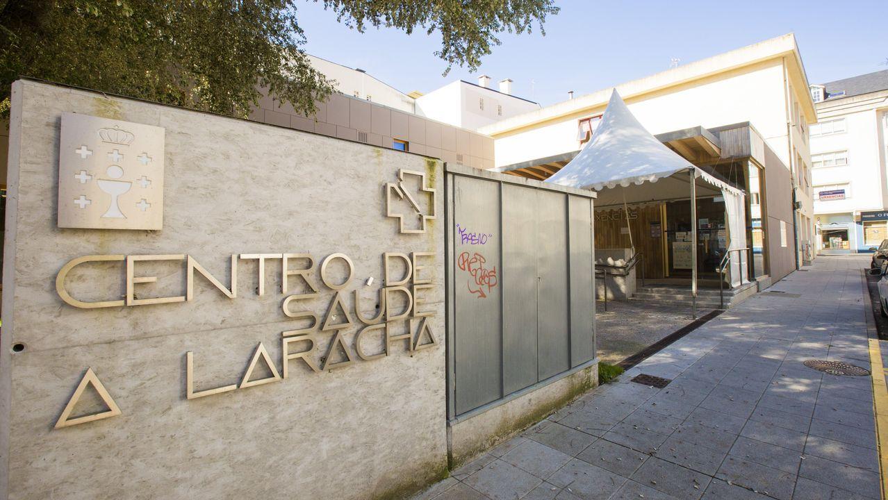 Vista del Hospital Álvaro Cunqueiro