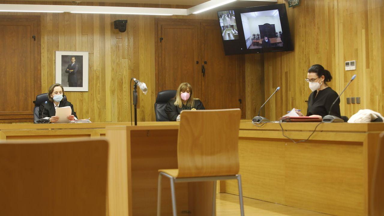 El acusado compareció de forma telemática
