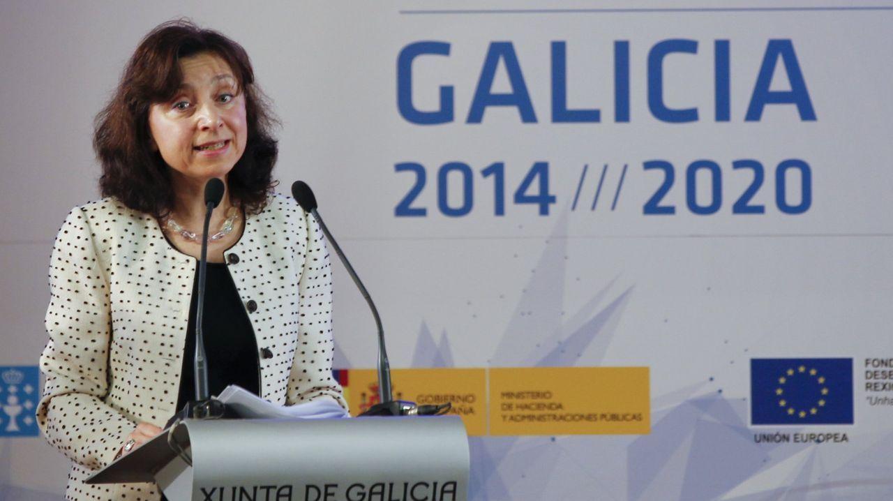 La nueva directora general de Asuntos Marítimos y Pesca en la Comisión Europea ya estuvo en Galicia en marzo de 2015, entonces como directora de Crecimiento Inteligente y Sostenible y Sur de Europa