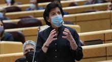 Isabel Celaá, esta semana en el Senado