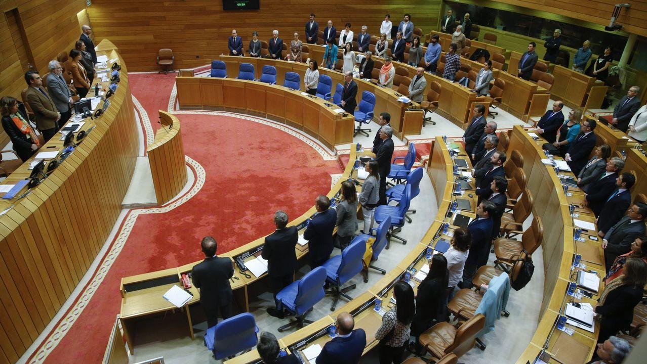 La emigración reclama que se cumpla ya la promesa de revocar el voto rogado.Protesta de Aeru, en una imagen de archivo