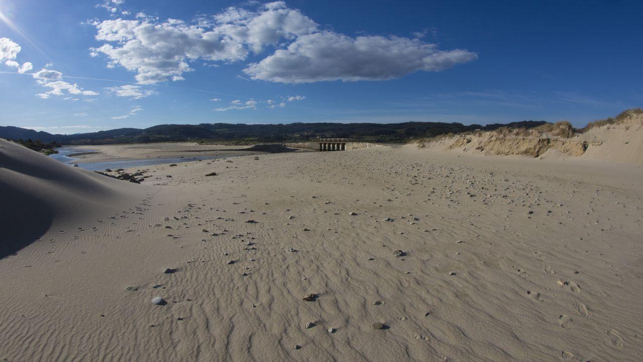 Praia de Baldaio (Carballo).