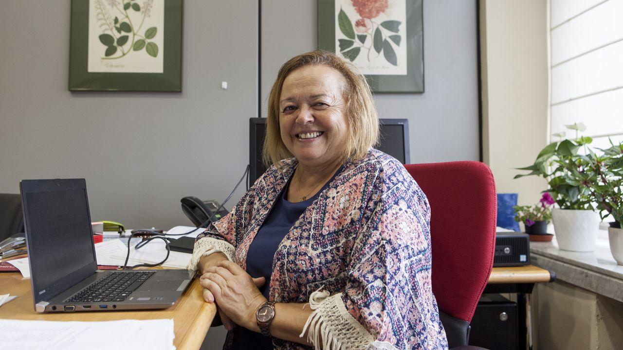 Alfonso Baragaño, gerente de Emulsa. Gijon.Rosa Menéndez, presidenta del CSIC