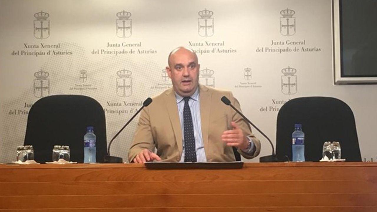 Pedro Leal, diputado de Foro en la Junta General