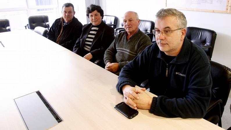 Médicos de CESM-OMEGA han denunciado esta tarde en Burela  el deterioro general de la asistencia sanitaria en A Mariña .