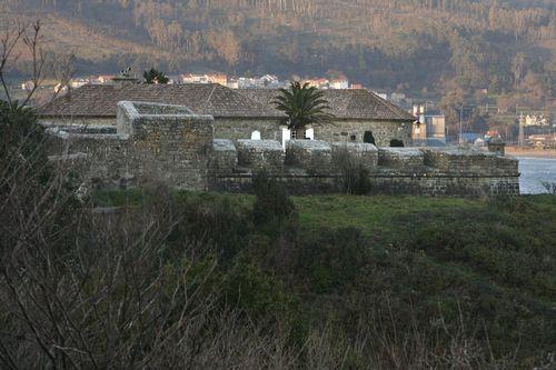 Castillo del Cardenal, en Corcubión