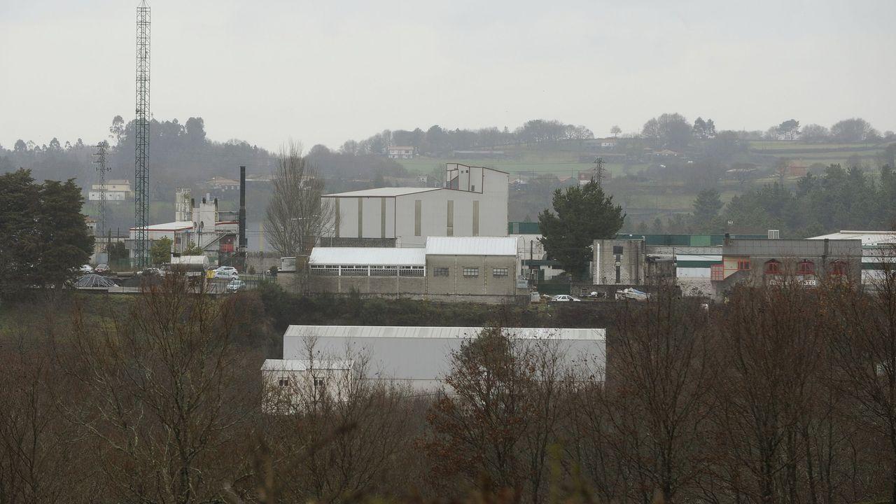 El meteorólogo asturianoque capturó las nubes.Una anterior protesta convocada por la plataforma contra la contaminación en Gijón