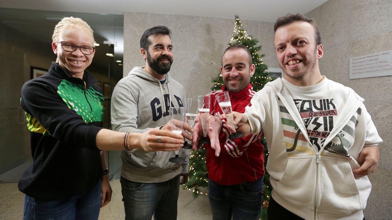 Deportistas gallegos de élite con discapacidad hacen balance en La Voz de un 2019 memorable y brindan por un 2020 que tiene los Juegos Olímpicos como principal objetivo de la mayoría de ellos