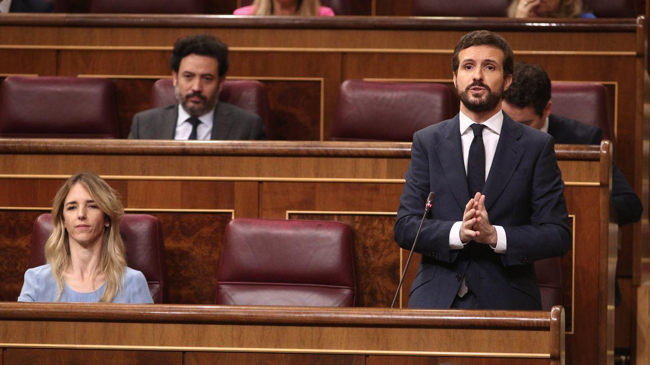 Pablo Casado y Alberto Núñez Feijoo