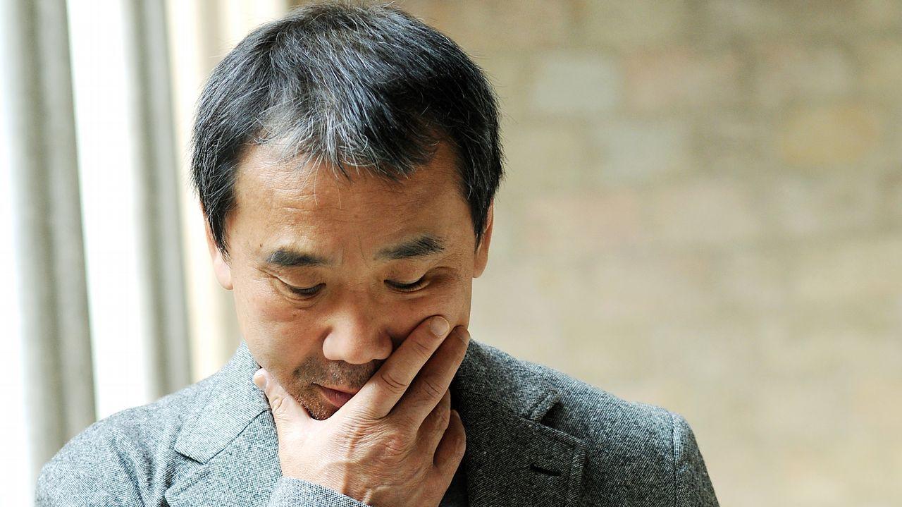 Murakami, retratado en el 2011, en una visita a Barcelona