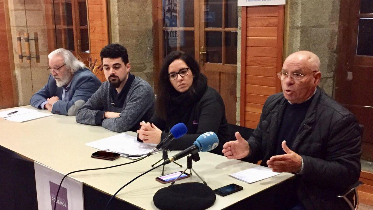 De izquierda a derecha, Guillermo Ferrándiz, Borja San Ramón, Susana López y Rafael Pillado