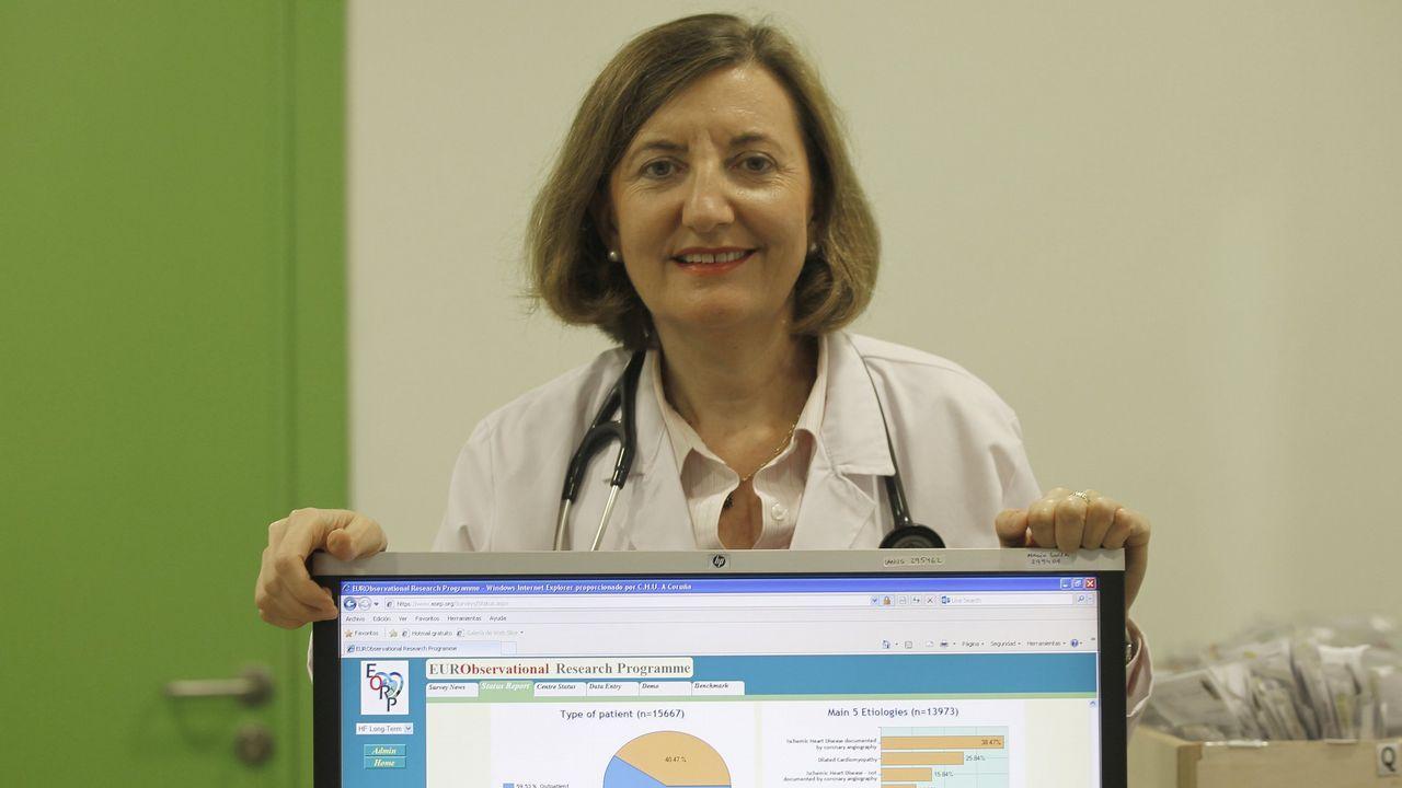 MARISA CRESPO LEIRO - Directora de la Unidad de Insuficiencia Cardíaca y Trasplante Cardíaco del Chuac