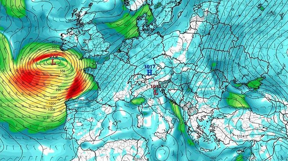 Un ciclón de categoría 1 afectará a Galicia el fin de semana
