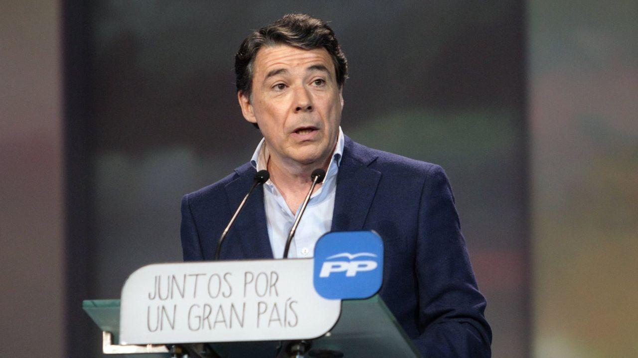 Ignacio González, expresidente de la Comunidad de Madrid.