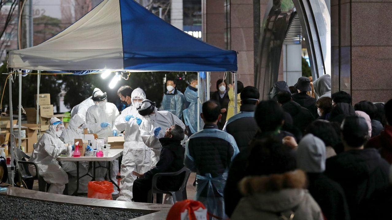 Dispositivo de detección instalado en una calle de Seúl