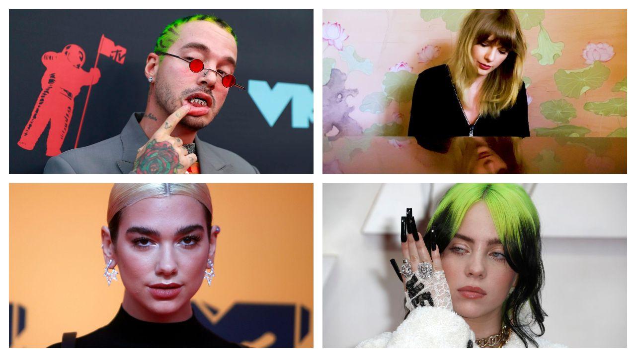 Algunos de los artistas que realizaron videoclips en plena pandemia