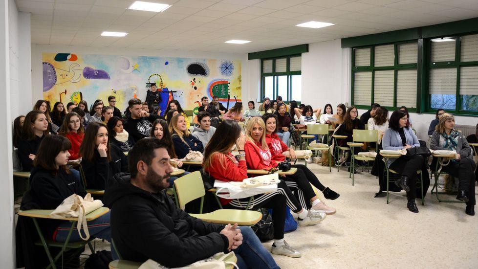 Actividad en el IES Xelmírez I (Santiago) para formar a estudiantes en la mediación de conflictos
