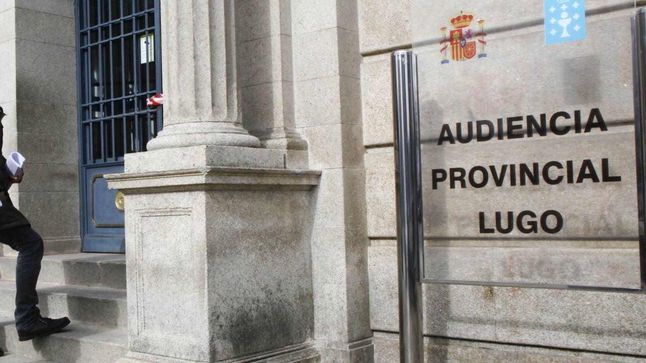 Foto de archivo de la Audiencia Provincial de Lugo