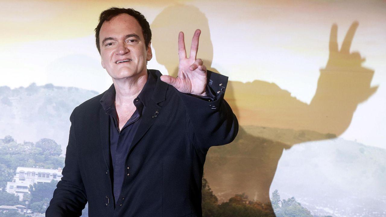 «Yo nunca me bloqueo», asegura Tarantino sobre su método para escribir guiones