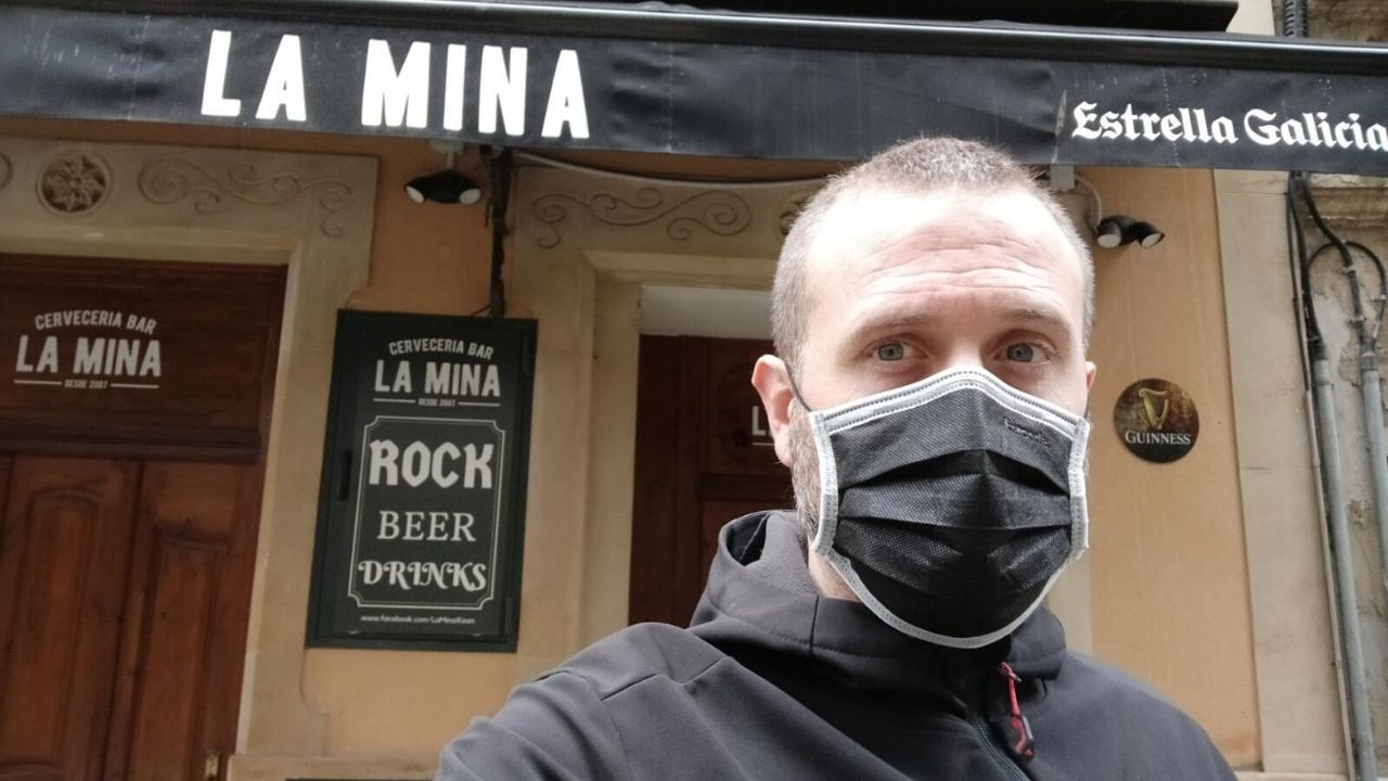 David Barroso, propietario de la cervecería La Mina
