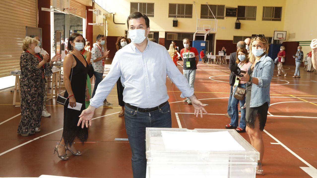 Germán Vázquez, en la campaña de las últimas elecciones municiaples
