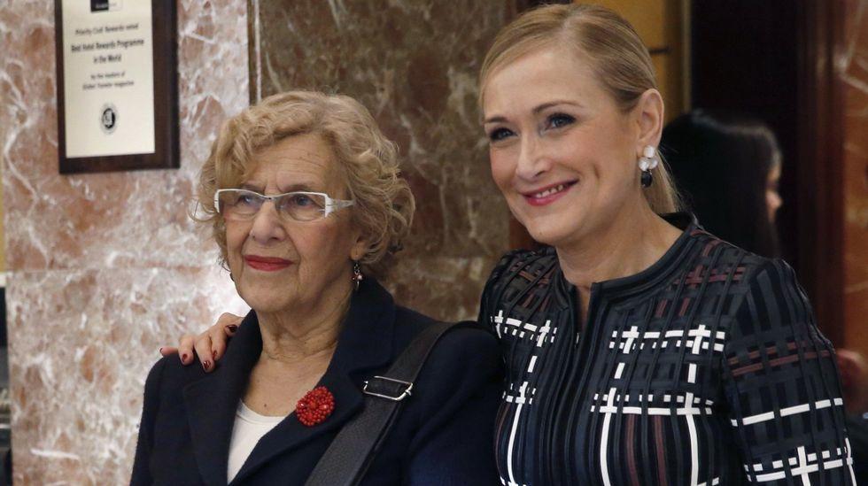 Estrella Morente en el Dos de Mayo: «Estamos hartos de que en España no haya diálogo».La comparecencia. La alcaldesa habló ayer sobre Las Meninas y el vídeo de sus declaraciones se puede ver la web de La Voz.