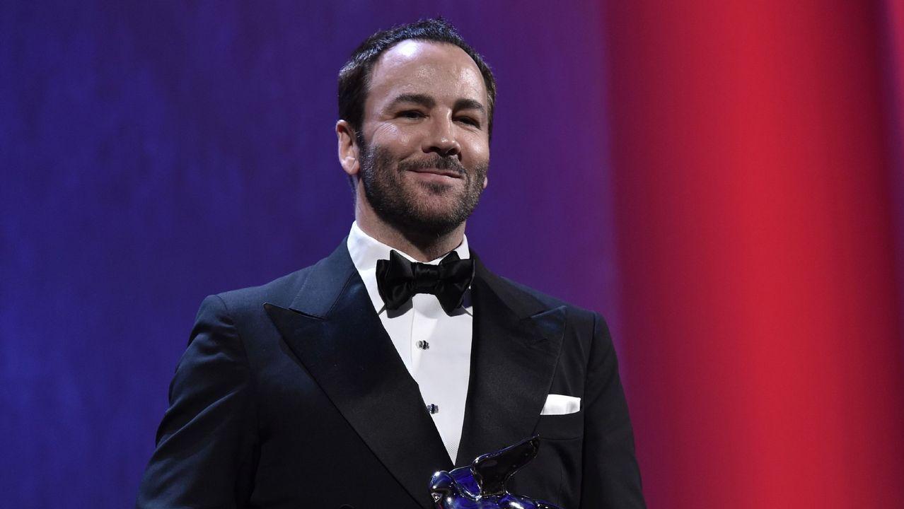 Tom For, después de recibir el Gran Premio del Jurado en el festival de Venecia del año pasado.