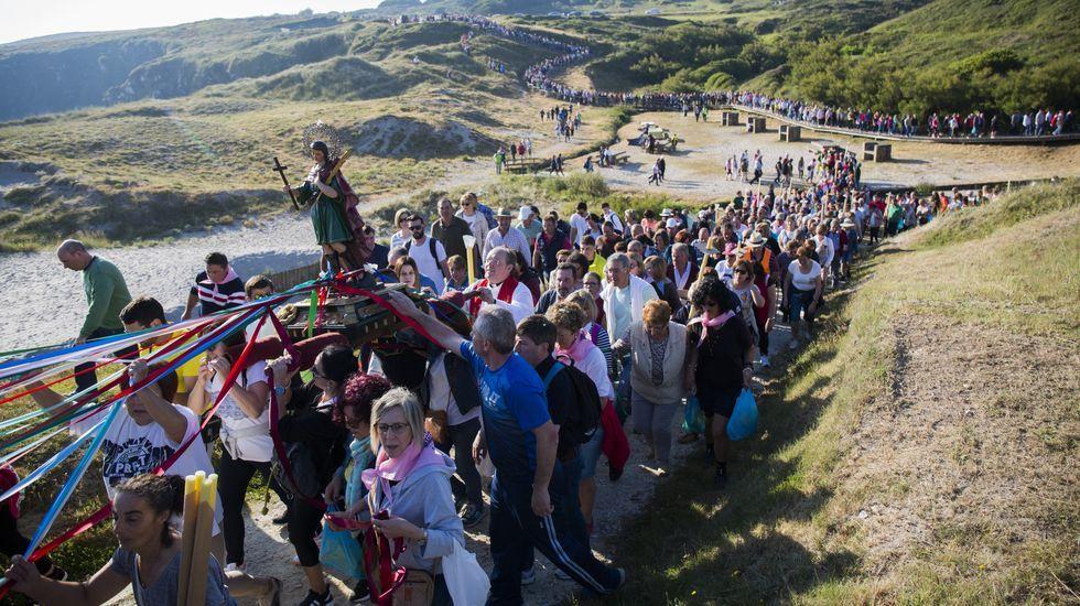 Las impresionantes imágenes de la romería de Santo Hadrián: ¡álbum!