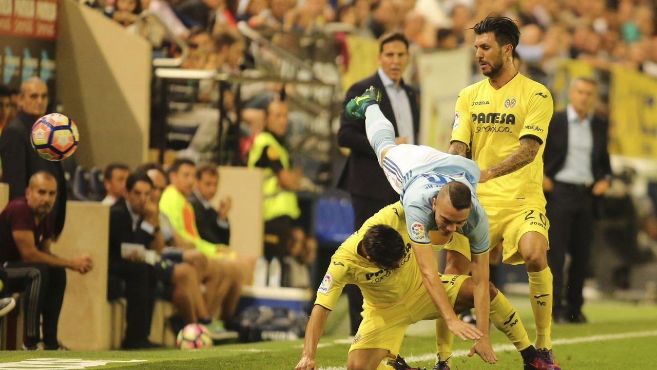 203 - Villarreal-Celta (5-0) de Primera el 16 de octubre del 2016
