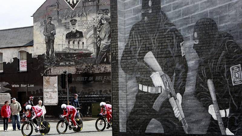 Arranca el Giro en las calles de Belfast