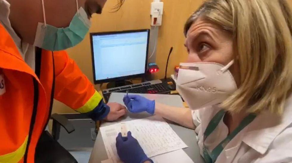 Más de mil sanitarios se hicieron la prueba en la provincia de Ourense