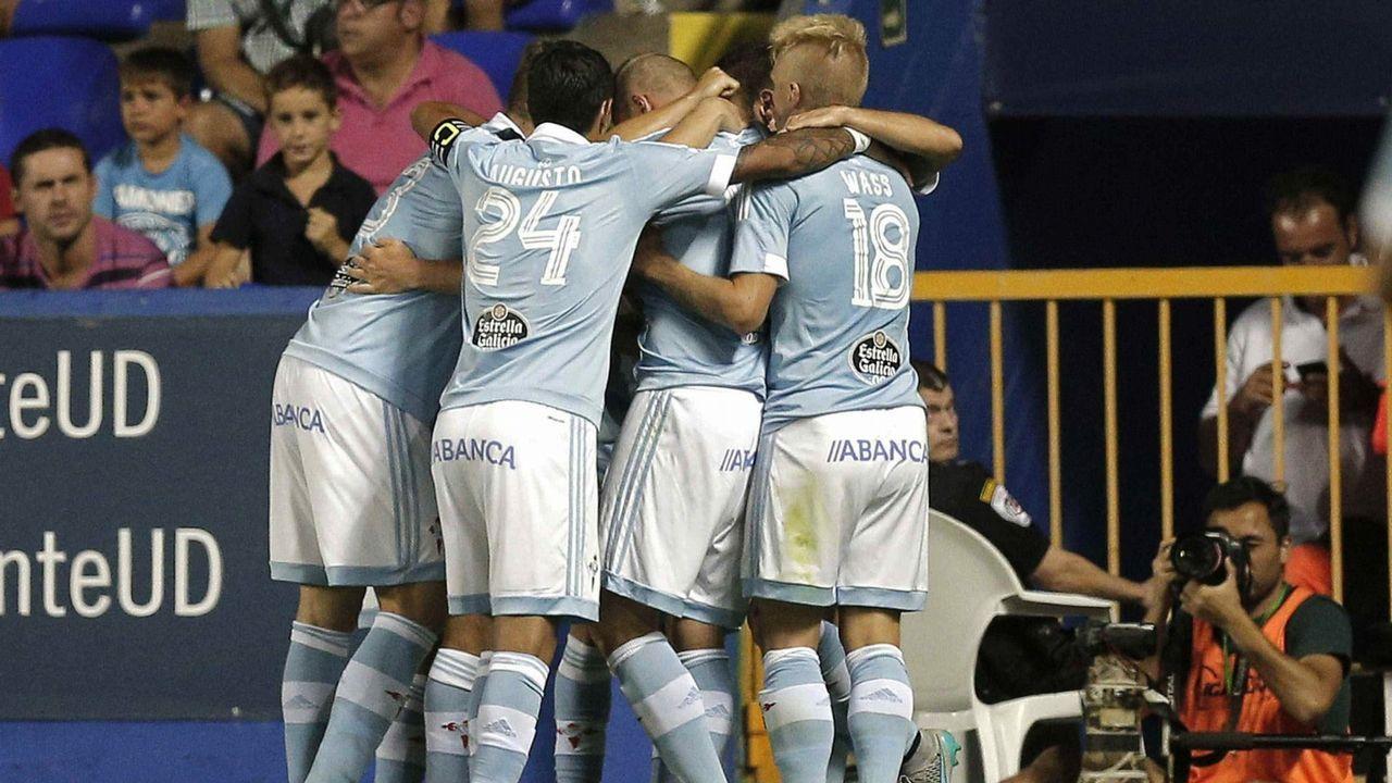 154 - Levante-Celta (1-2) de Primera el 23 de agosto del 2015