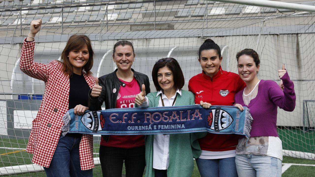 Todavía hay huecos para participar en el partido de fútbol solidario por el Día de la Mujer.TOUR UNIVERSO MULLER
