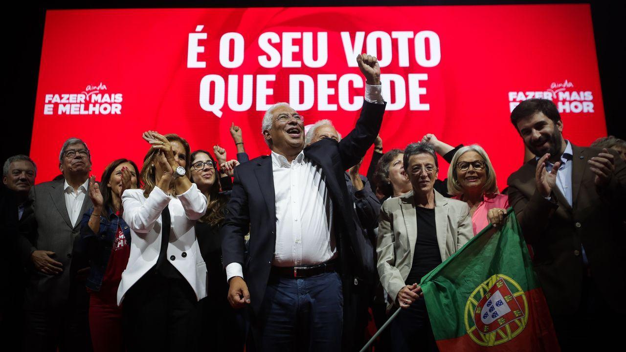 Así es Rafael Manuel Fernández Alonso, el ourensano que es candidato a la presidencia del Gobierno por el Partido Por Un Mundo Más Justo (PUM+J).Antonio Costa, líder del Partido Socialista