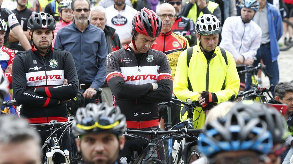 Vigo y Santiago se suman a las concentraciones ciclistas