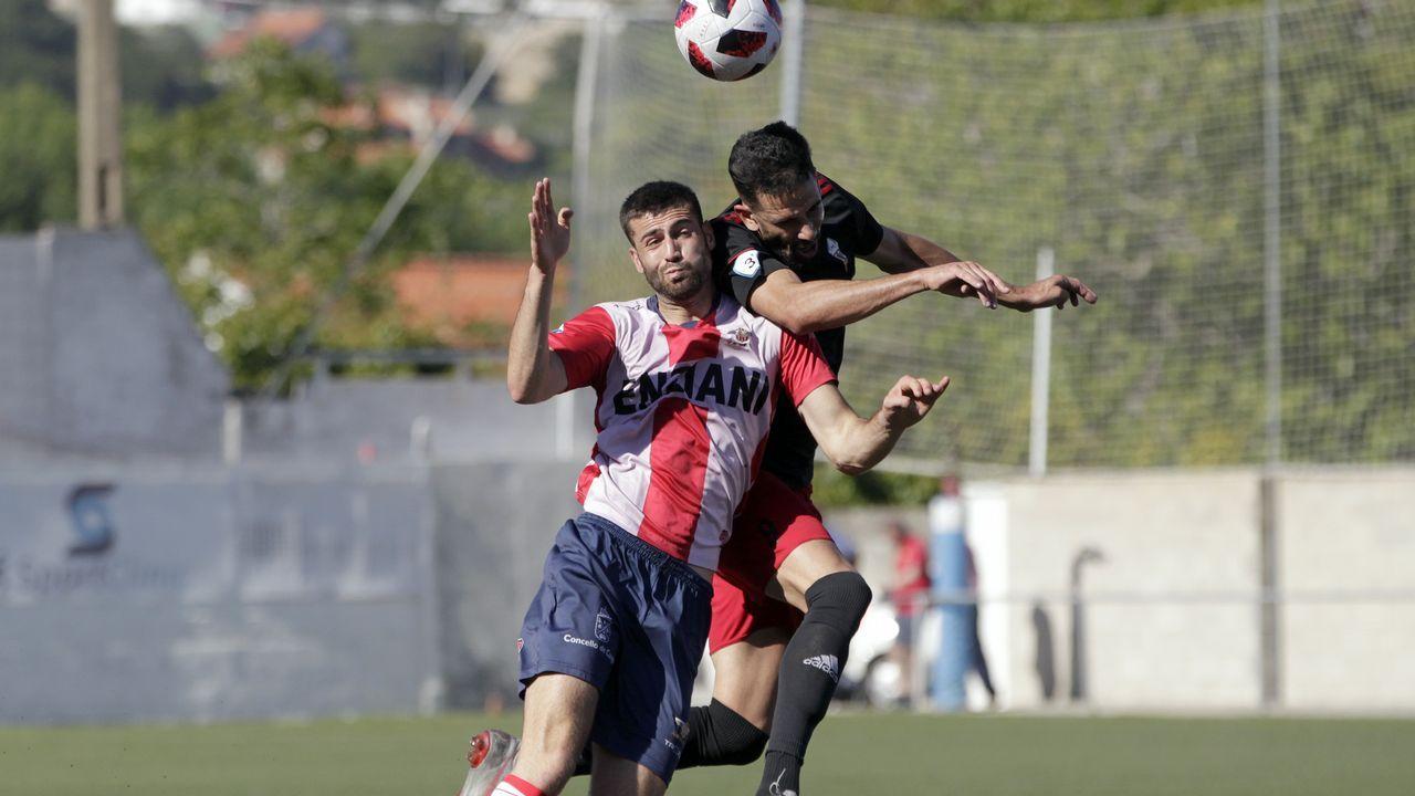 ¡Así fue el entrenamiento del Bergantiños de este miércoles!.Ibra da un pase en el Rayo Majadahonda-Real Oviedo de la primera vuelta