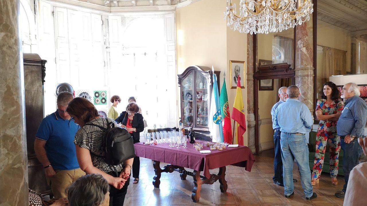 El centro gallego de Lisboa tiene su sede en un palacete del S. XIX que donó a la entidad un particular un socio, Manuel Cordo Boullosa
