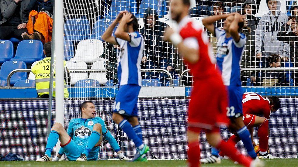 El Deportivo-Sevilla, en fotos