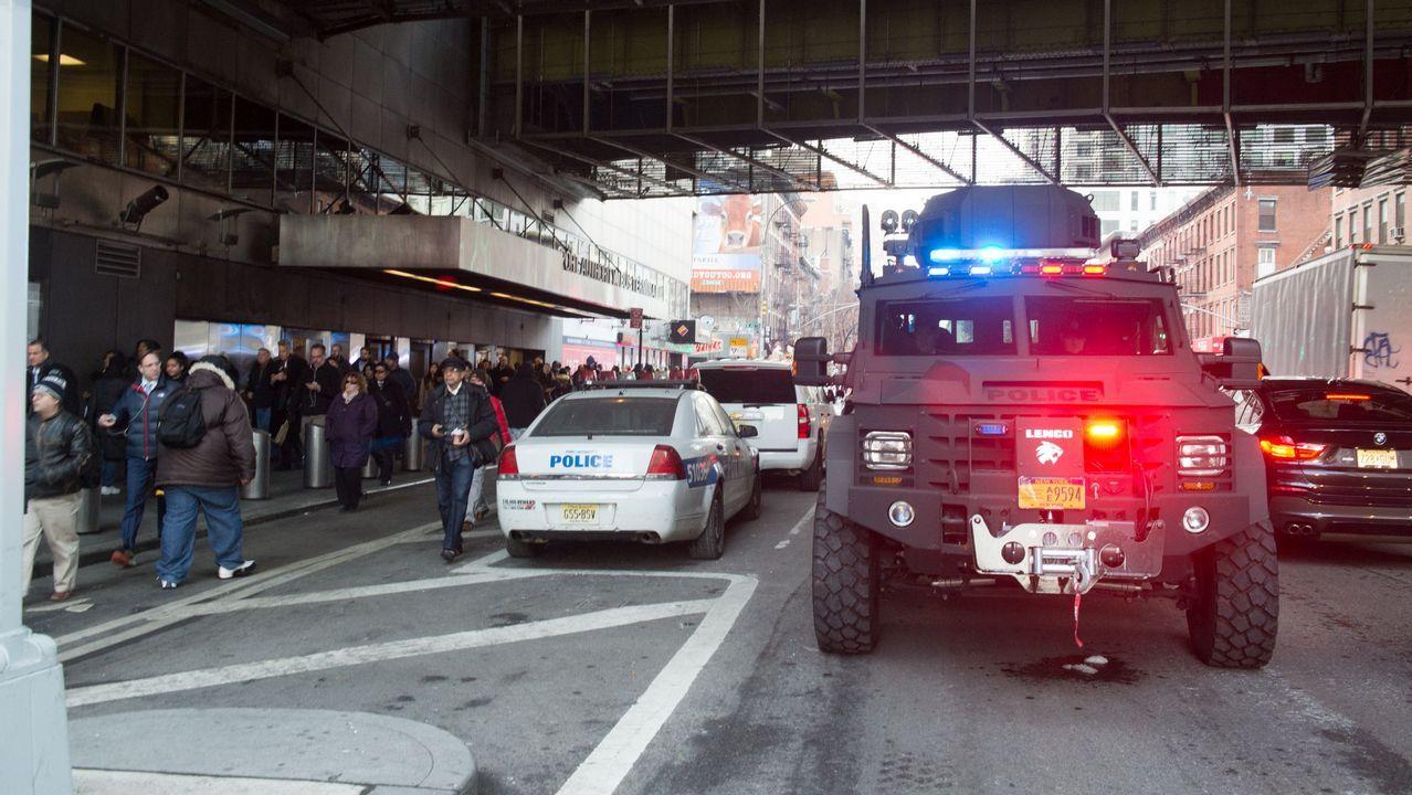 Un detenido en Nueva York tras una explosión en una estación de autobuses.Donald Trump