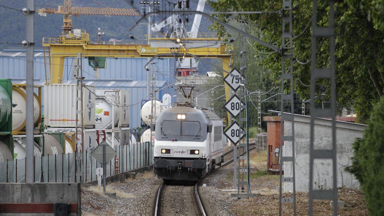 Un tren de Feve