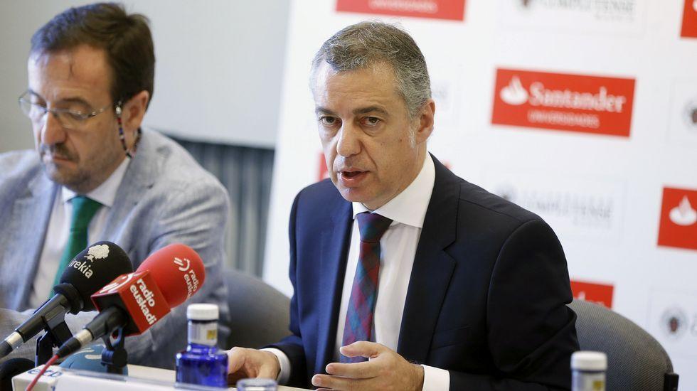 Íñigo Urkullu adelanta las elecciones vascas al 25 de septiembre