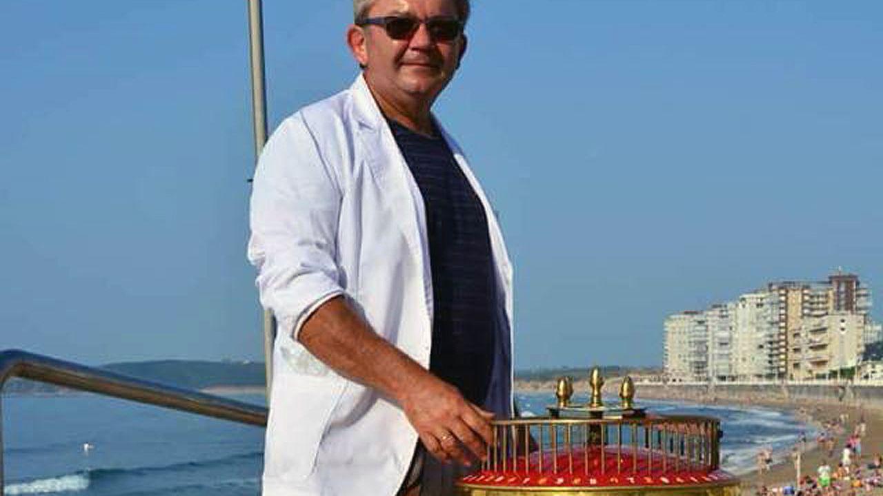 El barquillero de Salinas y Avilés, apodado Pelayo.El barquillero de Salinas y Avilés, apodado Pelayo