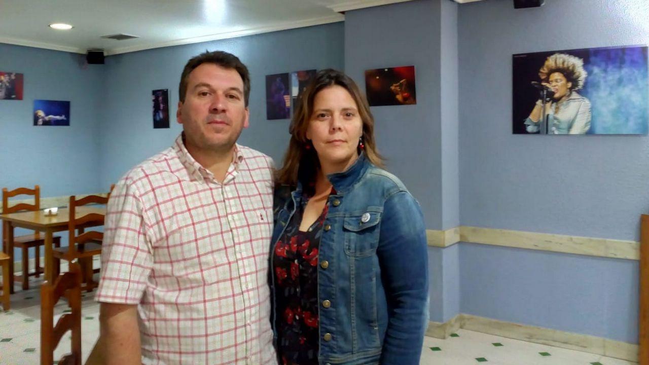 Os rapaces baixaron o pano do FIOT.Precandidatos a las primarias del PSOE Coruña