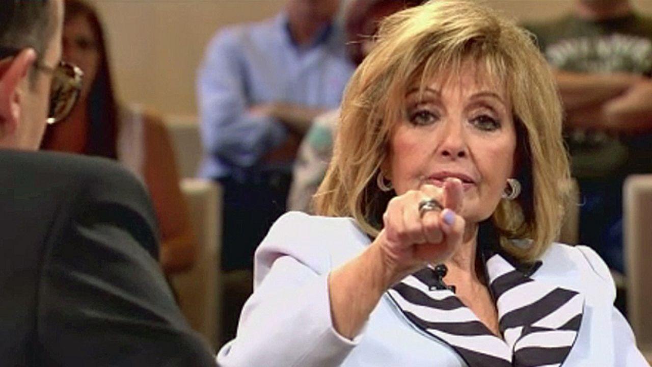 María Teresa Campos habla del suicidio de su marido.La actriz Paula Echevarría