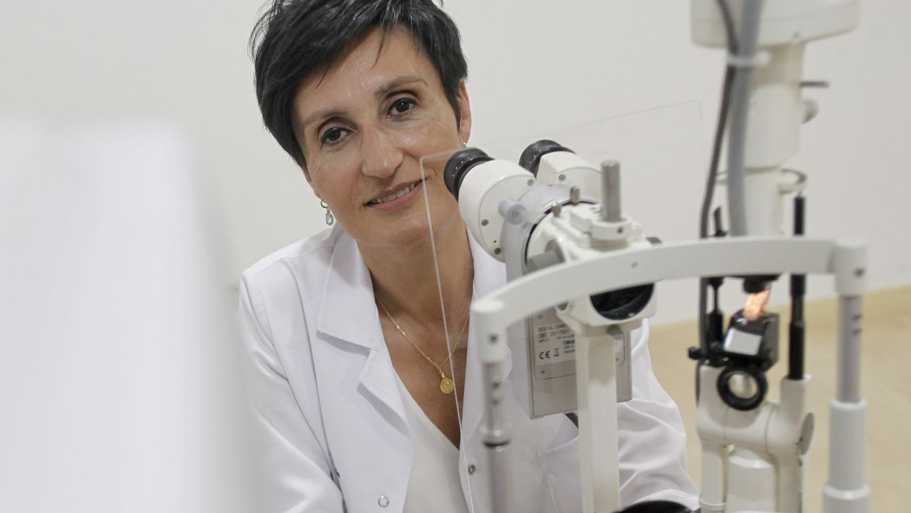 La oftalmóloga Ana González anima a protegerse los ojos
