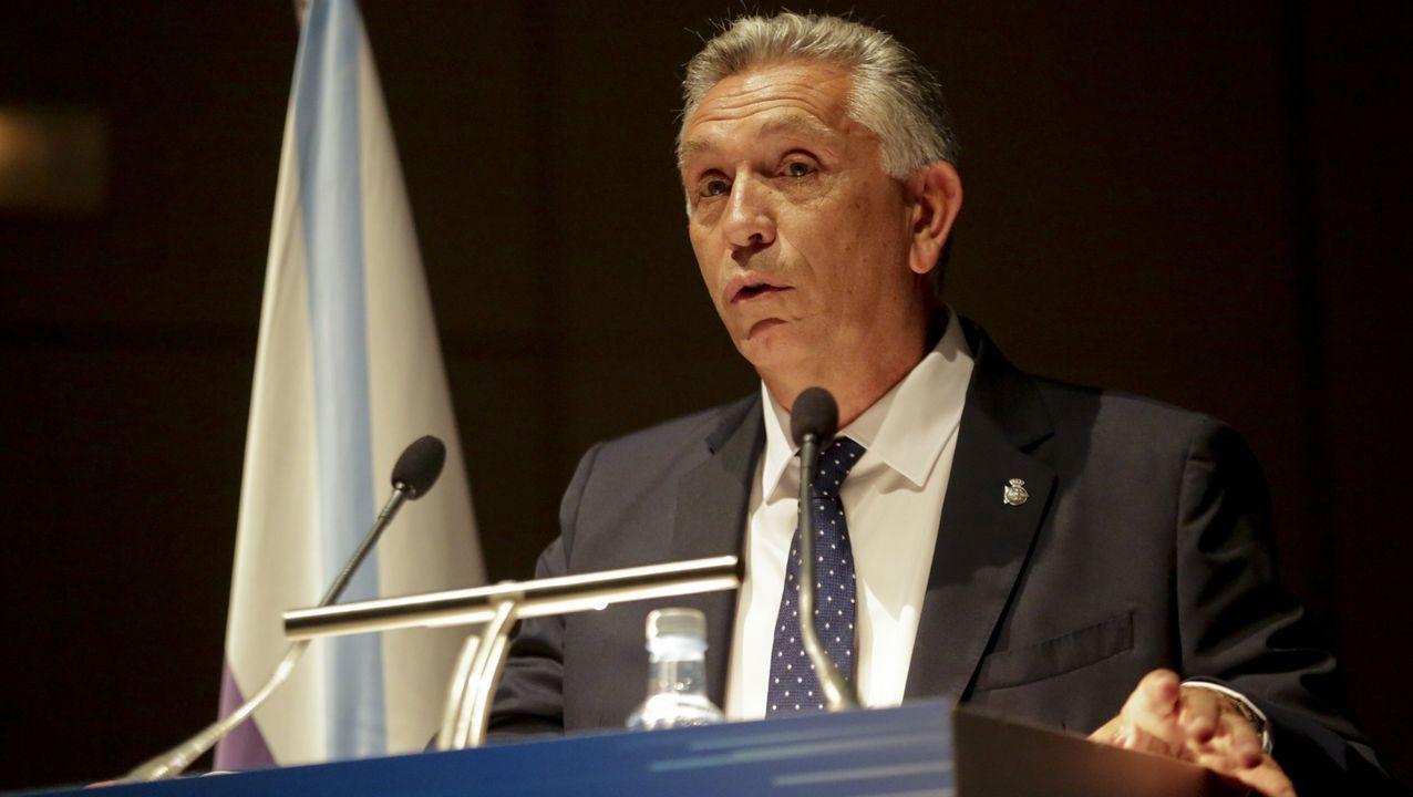 La presidencia de Paco Zas, en imágenes